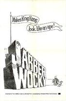 Jabberwocky - British Movie Poster (xs thumbnail)