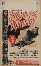 Women in Bondage - Theatrical poster (xs thumbnail)