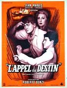 Appel du destin, L' - French Movie Poster (xs thumbnail)