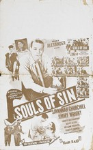 Souls of Sin - Theatrical poster (xs thumbnail)