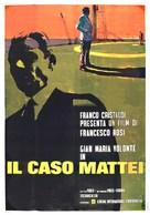 Caso Mattei, Il - Italian Movie Poster (xs thumbnail)