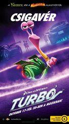 Turbo - Hungarian Movie Poster (xs thumbnail)