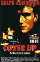 Cover Up - German VHS cover (xs thumbnail)