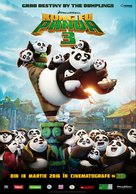 Kung Fu Panda 3 - Romanian Movie Poster (xs thumbnail)