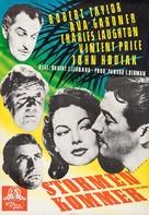 The Bribe - Swedish Movie Poster (xs thumbnail)