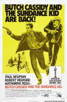 Butch Cassidy and the Sundance Kid - Re-release movie poster (xs thumbnail)