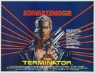 The Terminator - British Movie Poster (xs thumbnail)