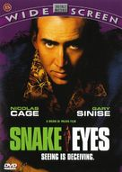 Snake Eyes - Danish DVD cover (xs thumbnail)