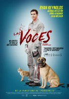 The Voices - Mexican Movie Poster (xs thumbnail)