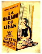 La châtelaine du Liban - French Movie Poster (xs thumbnail)