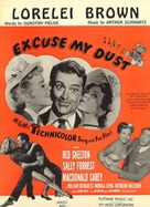Excuse My Dust - Movie Poster (xs thumbnail)