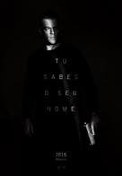 Jason Bourne - Portuguese Movie Poster (xs thumbnail)