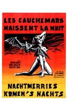 Les cauchemars naissent la nuit - Belgian Movie Poster (xs thumbnail)