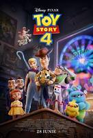 Toy Story 4 - Romanian Movie Poster (xs thumbnail)