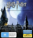 Harry Potter and the Chamber of Secrets - Australian Blu-Ray cover (xs thumbnail)