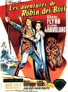 The Adventures of Robin Hood - French Movie Poster (xs thumbnail)