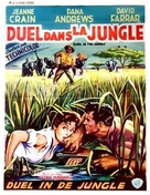 Duel in the Jungle - Belgian Movie Poster (xs thumbnail)