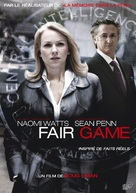 Fair Game - French Movie Cover (xs thumbnail)