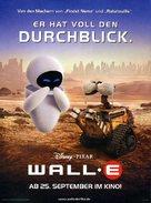 WALL·E - German Movie Poster (xs thumbnail)