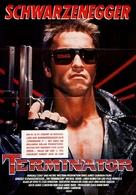 The Terminator - German Movie Poster (xs thumbnail)