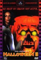 Halloween II - German DVD movie cover (xs thumbnail)