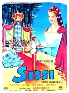 Sissi - French Movie Poster (xs thumbnail)
