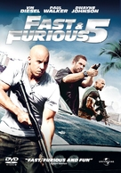 Fast Five - DVD cover (xs thumbnail)