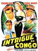 Congo Crossing - French Movie Poster (xs thumbnail)