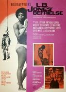 The Liberation of L.B. Jones - Danish Movie Poster (xs thumbnail)