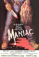 Maniac - Spanish Movie Poster (xs thumbnail)