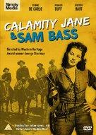Calamity Jane and Sam Bass - British DVD cover (xs thumbnail)