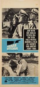 In Harm's Way - Italian Movie Poster (xs thumbnail)