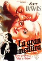 The Great Lie - Spanish Movie Poster (xs thumbnail)