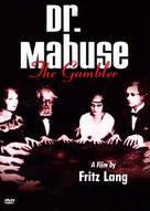 Dr. Mabuse, der Spieler - Ein Bild der Zeit - DVD movie cover (xs thumbnail)