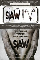 Saw IV - French Movie Poster (xs thumbnail)