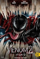 Venom: Let There Be Carnage - Hungarian Movie Poster (xs thumbnail)