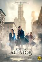 Fantastic Beasts and Where to Find Them - Hungarian Movie Poster (xs thumbnail)