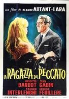 En cas de malheur - Italian Movie Poster (xs thumbnail)