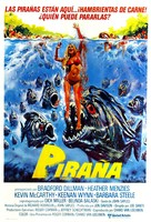 Piranha - Argentinian Movie Poster (xs thumbnail)