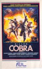 Cobra Mission - Brazilian VHS cover (xs thumbnail)