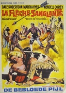 Blood on the Arrow - Belgian Movie Poster (xs thumbnail)