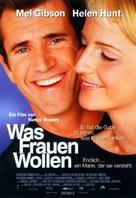 What Women Want - German Movie Poster (xs thumbnail)