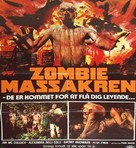 Zombi Holocaust - Danish Movie Poster (xs thumbnail)
