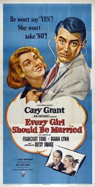 Every Girl Should Be Married - Movie Poster (xs thumbnail)