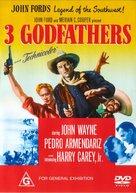 3 Godfathers - Australian Movie Cover (xs thumbnail)
