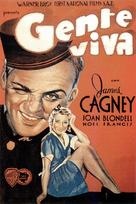 Blonde Crazy - Spanish Movie Poster (xs thumbnail)