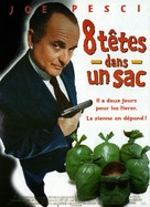 8 Heads in a Duffel Bag - French Movie Poster (xs thumbnail)