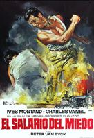 Le salaire de la peur - Spanish Movie Poster (xs thumbnail)