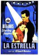 The Star - Spanish Movie Poster (xs thumbnail)