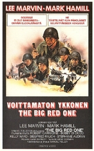The Big Red One - Finnish VHS movie cover (xs thumbnail)